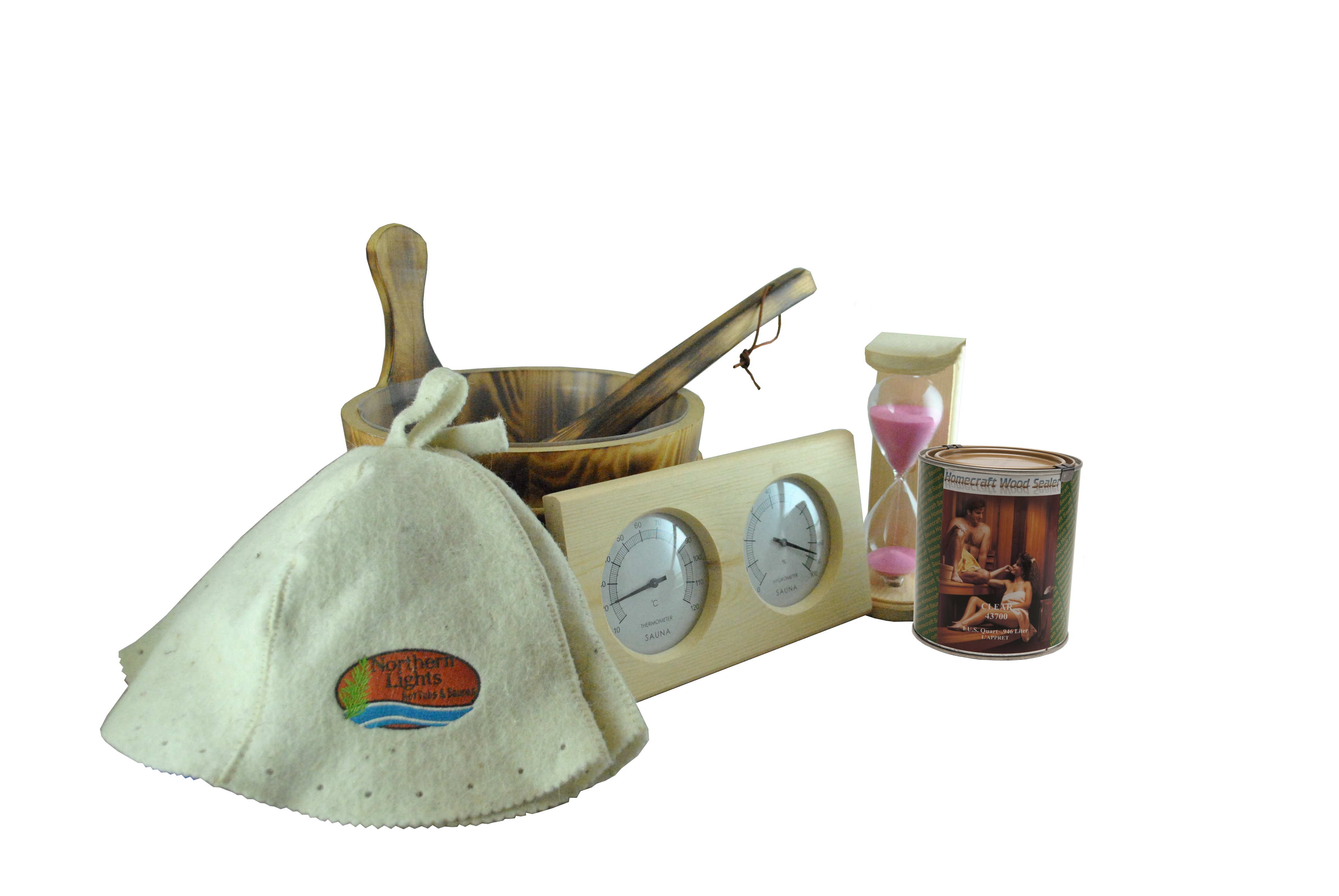 Sauna Accessory Gift Package
