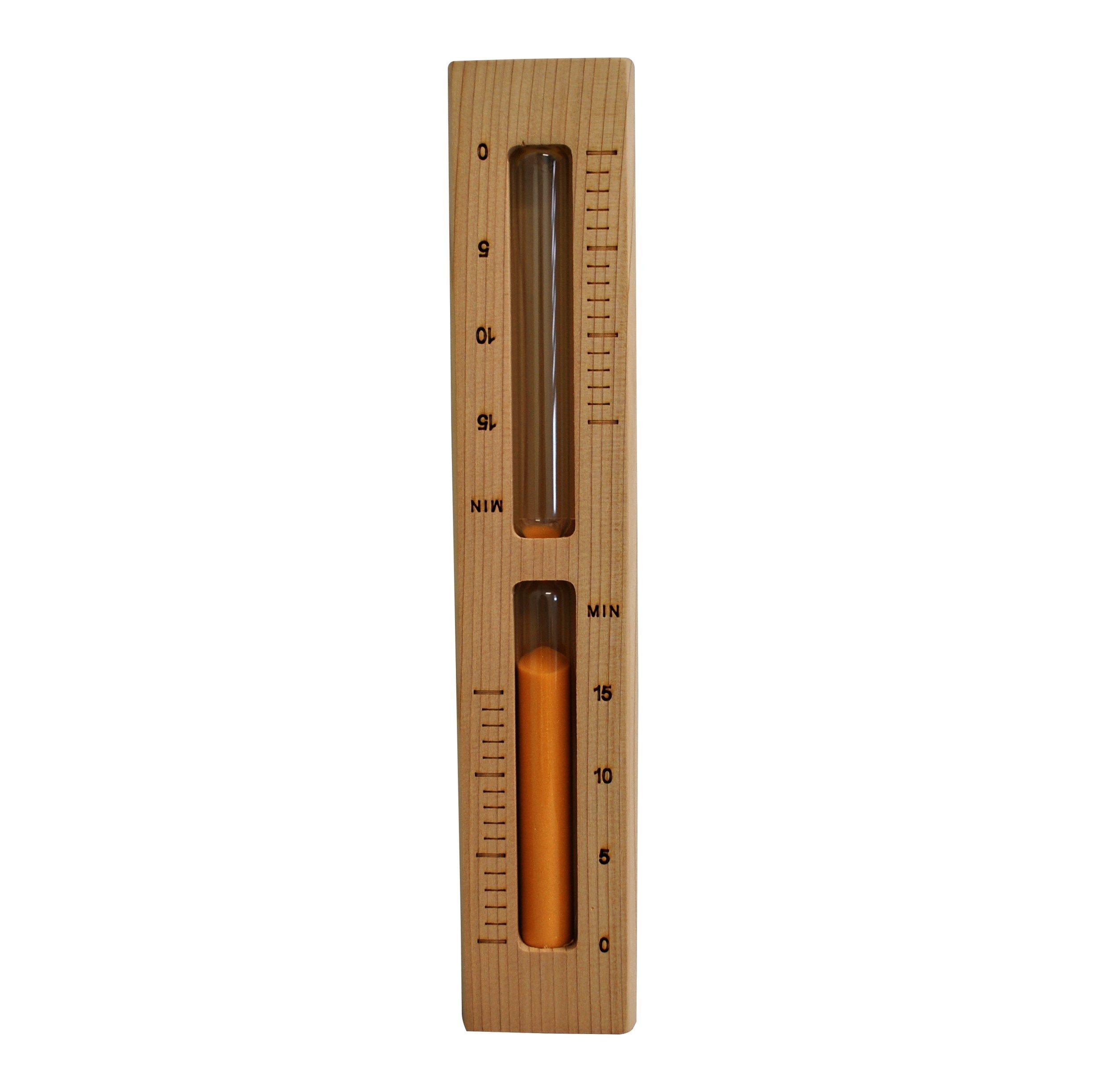 Sauna Hour Glass Timer Cedar