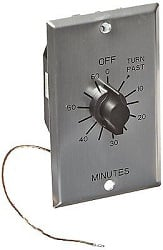 Mechanical Sauna Timer for 110-240 VAC Sauna Controller Infrared Heaters