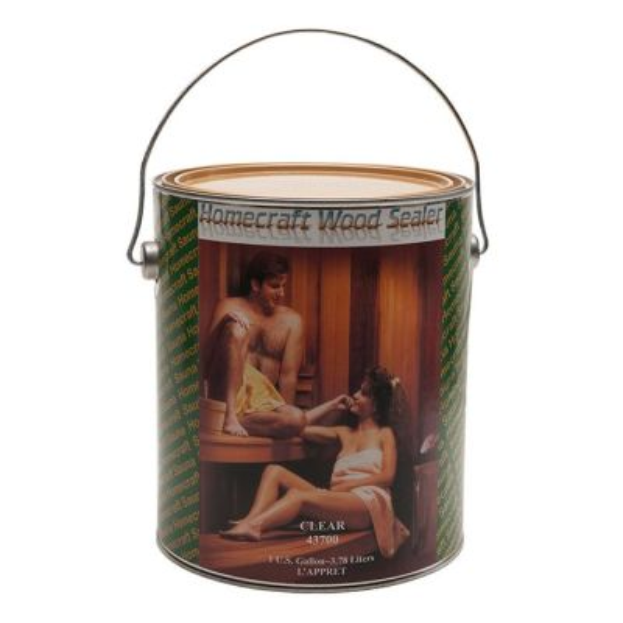 Sauna Sealant-Water Based Interior Sealer-1 Gallon