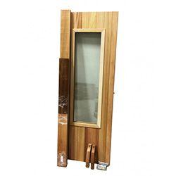 Insulated Cedar Sauna Door with Window
