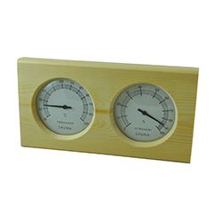 Pine Sauna Thermometer and Hygrometer- Celsius