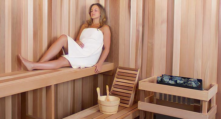 Diy Sauna Kit 5 X 7 Complete Sauna Room Package 5 Kw