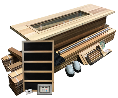 Indoor & Outdoor DIY Sauna Kits | Cedar Barrel Saunas