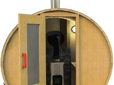 Wood Fired Heating Option Available