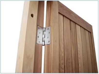Step#11 Hang sauna door a door fasteners & DIY Kits : Sauna Rooms and Home Sauna Kits