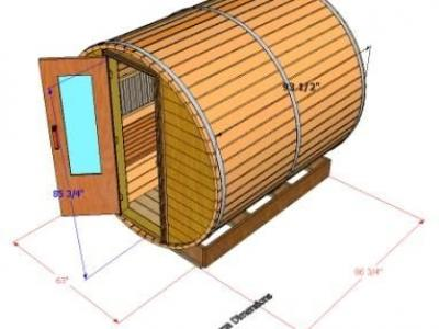 Outside Dimensions Of 8 Sauna
