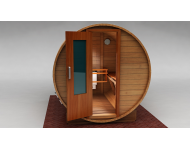 Barrel Sauna Exterior View 1