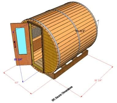 Sauna Specifications Outdoor Sauna Designs Sauna Specs