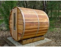 Enjoy you new Barrel Sauna!
