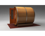 Barrel Sauna Exterior View 2