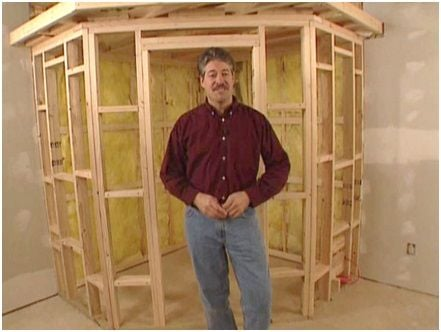 Diy kits sauna rooms and home sauna kits for Home sauna plans